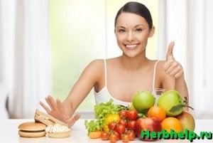 Правильное питание, как средство к похудению
