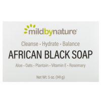 черное мыло для волос