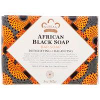 лучшее черное мыло nubian heritage