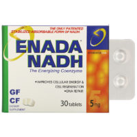 nadh таблетки enada energizing coenzyme 5 мг