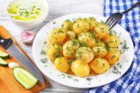 картофель польза вред вареный
