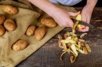 картофель польза вред кожура